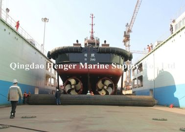 Inflatable Rubber Ship Launching Airbags 5-20m Length For Boat Barge